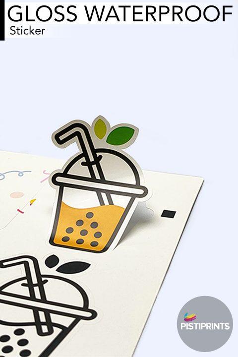 Gloss Waterproof Sticker