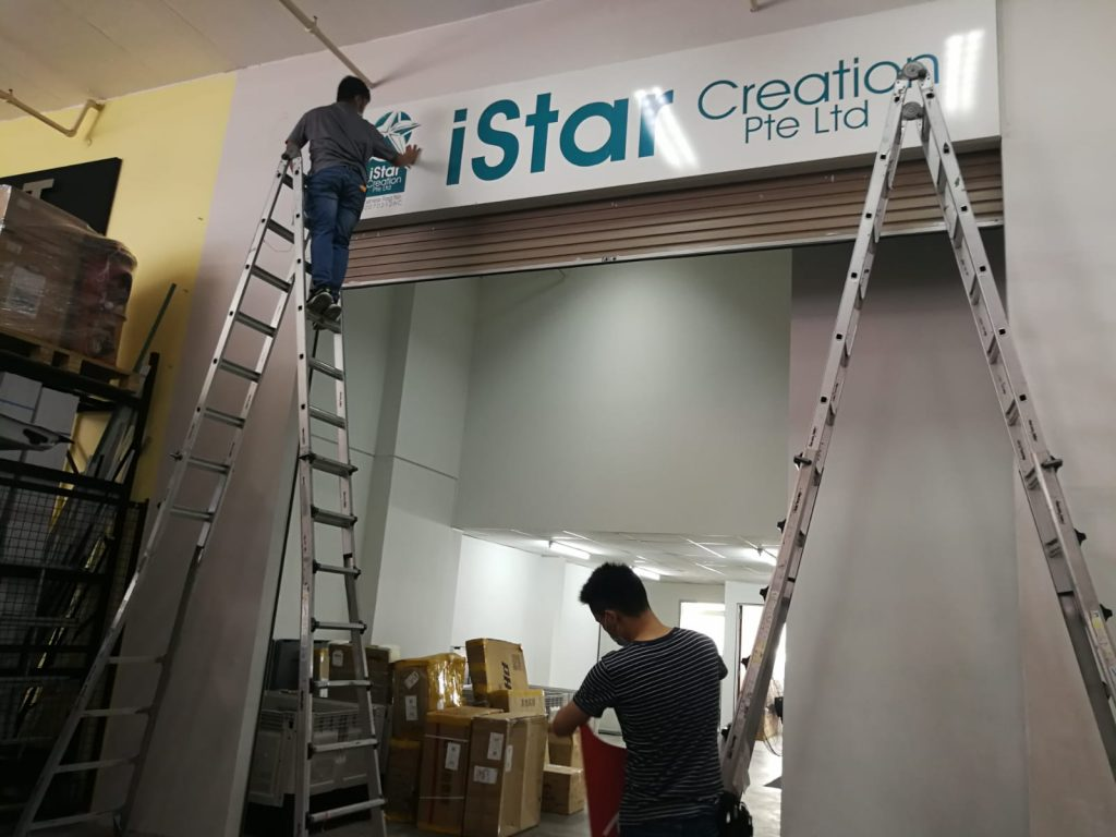 Outdoor Signage Installations - Large Format Printing